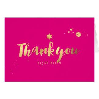 PixDezines Bat Mitzvah/Thank You/DIY color Card