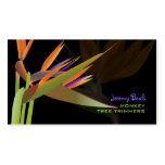 PixDezines bird of paradise ♥♥♥ Pack Of Standard Business Cards