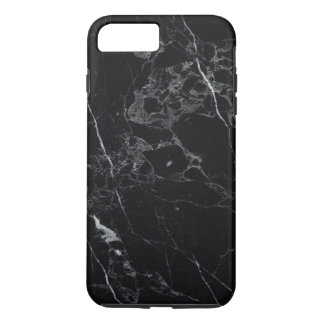 PixDezines BLACK MARBLE iPhone 8 Plus/7 Plus Case