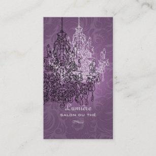 Crystal chandeliers business cards zazzle au pixdezines blackwhite chandelierdiy background business card reheart Gallery