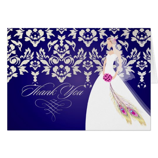 PixDezines Bride2B Thank You cards