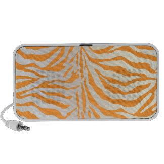 PixDezines Brown Zebra Print ♥♥♥♥ Mp3 Speakers