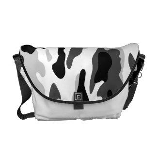 PixDezines Camo/arctic white Courier Bags