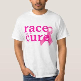PixDezines Cancer Awareness, Pink Ribbon Tshirt