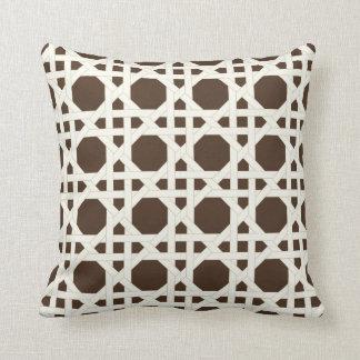 PixDezines cane trellis/diy background colors Cushion