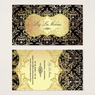 PixDezines Céline Damask Business Card