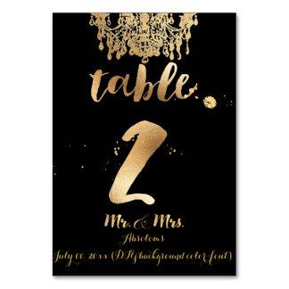 PixDezines Chandelier/Faux Gold/table 2 Card