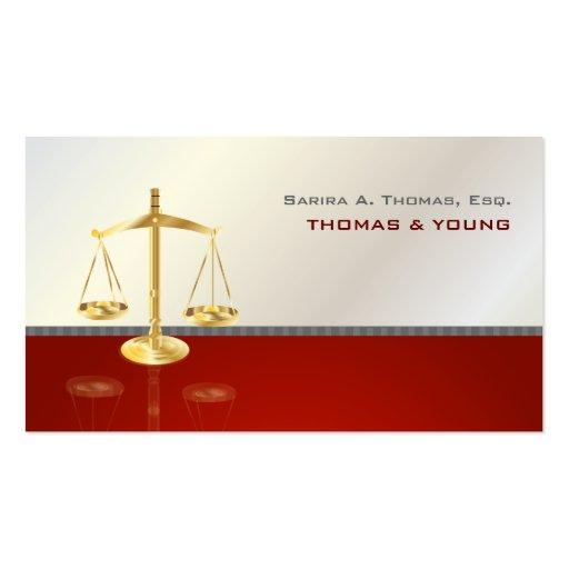 PixDezines Chic attorney.. Business Card