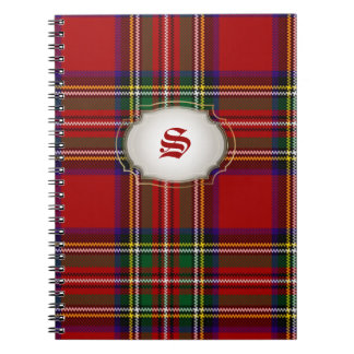PixDezines clan stewart tartan Notebooks