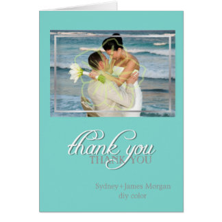 PixDezines classic DIY color/Photo Thank You cards