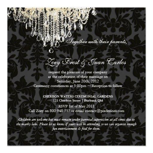 PixDezines Crystal Chandelier + Baroque Damask Announcement