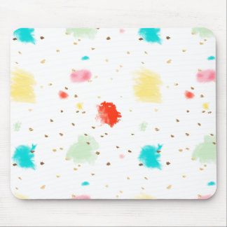 PixDezines Cupcake Sprinkles/Faux Gold Mouse Pad