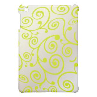 PixDezines Cupcake Swirls, Faux Pearl+Green Case For The iPad Mini
