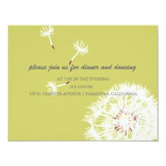 PixDezines Dandelions, diy background colors Card