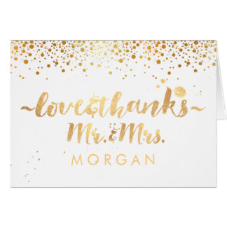 PixDezines DIY color/dazzle/gold specks/thank you Card