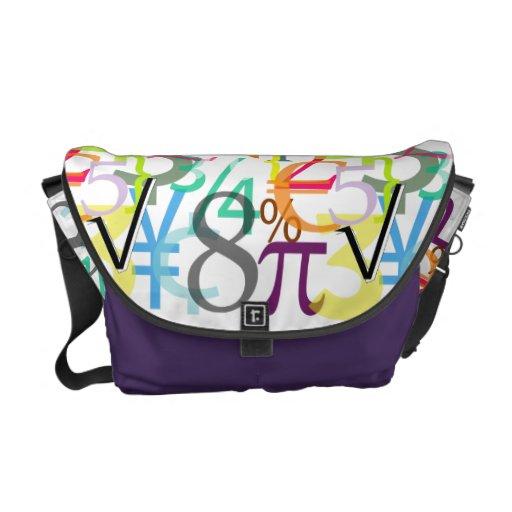 PixDezines diy color finance/monogram Commuter Bags