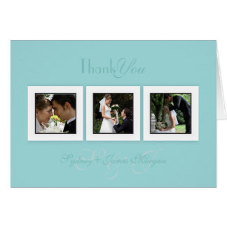 PixDezines diy color+text/wedding photos thank you Card