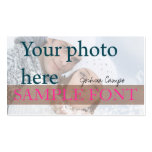 PixDezines DIY photo+fonts Pack Of Standard Business Cards