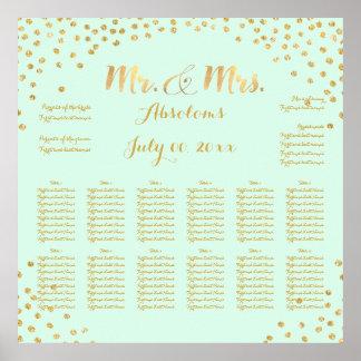 PixDezines DIYcolor/faux gold specks/seating chart