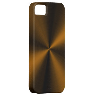 PixDezines faux brushed copper Case For The iPhone 5