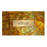 PixDezines Faux Metallic Gold Texture Pack Of Standard Business Cards