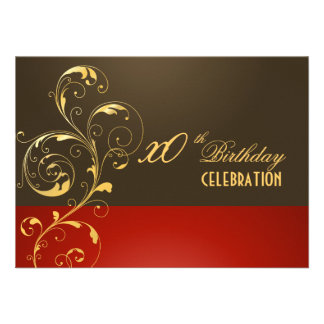 PixDezines filigree DIY event/Birthday Custom Invitation