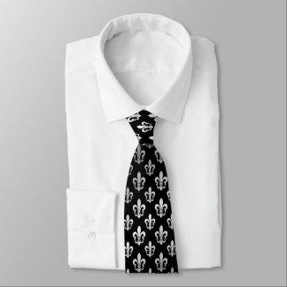 PixDezines fleur de lis/DIY background color Tie
