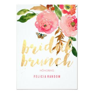 PixDezines Floral Bridal Brunch/DIY Background Card