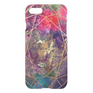 PixDezines Galaxy+Gemstone Facets iPhone 8/7 Case