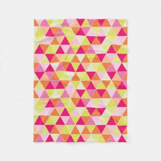 PixDezines geometric/adjustable/citrus Fleece Blanket