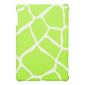 PixDezines Giraffe , Neon Green iPad Mini Covers