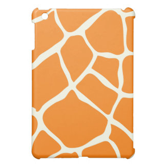 PixDezines Giraffe , Orange iPad Mini Cover