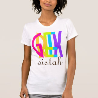 PixDezines Greek sistah! T-Shirt