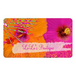 PixDezines Hawaii Hibiscus watercolor affect Business Card