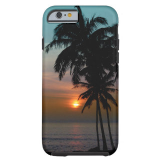 PixDezines hawaii/sunset/beach Tough iPhone 6 Case