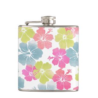 PixDezines hibiscus/DIY background color Flasks