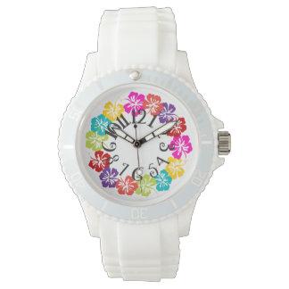 PixDezines hibiscus lei/diy background Watch