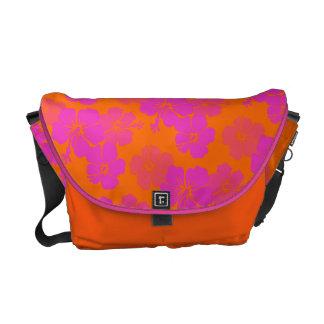PixDezines hibiscus leis/diy background color Commuter Bags