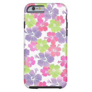 PixDezines hibiscus/watercolor/diy background Tough iPhone 6 Case
