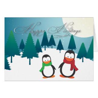 PixDezines Holiday Cards, penguins