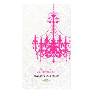 PixDezines hot pink chandelier/DIY color Pack Of Standard Business Cards