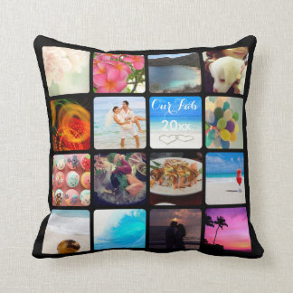 PixDezines Instagram It!/DIY background color Cushion