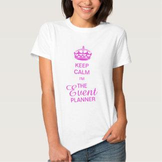 PixDezines Keep Calm/Event Planner/DIY text Shirts