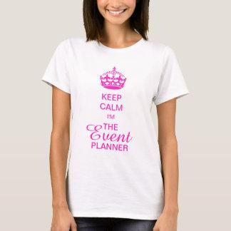 PixDezines Keep Calm/Pink Crown/DIY text T-Shirt