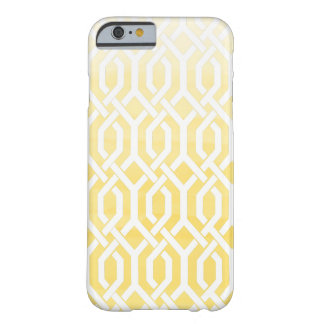 PixDezines kew trellis/watercolor fresia yellow Barely There iPhone 6 Case