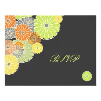 PixDezines Kiku (chrysanthemum) RSVPs require 5x7 Card