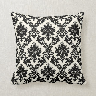 PixDezines la paloma damask/diy background Throw Pillow
