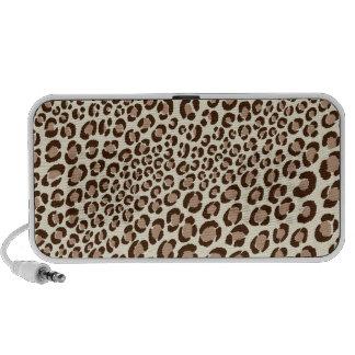 PixDezines Leopard Spots au naturelle ♥♥♥♥ Portable Speakers
