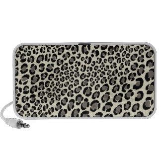 PixDezines Leopard Spots/black ♥♥♥♥ Mp3 Speakers