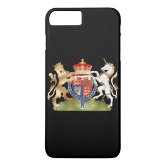 PixDezines Lion Heart/Windsor Crest/DIY Background iPhone 7 Plus Case
